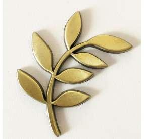 Placca adesiva in bronzo, Acacia