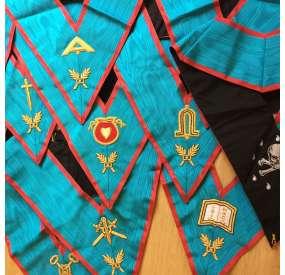 Set collari di alta qualità per Ufficiali di Loggia