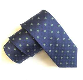 Forget me not masonic tie